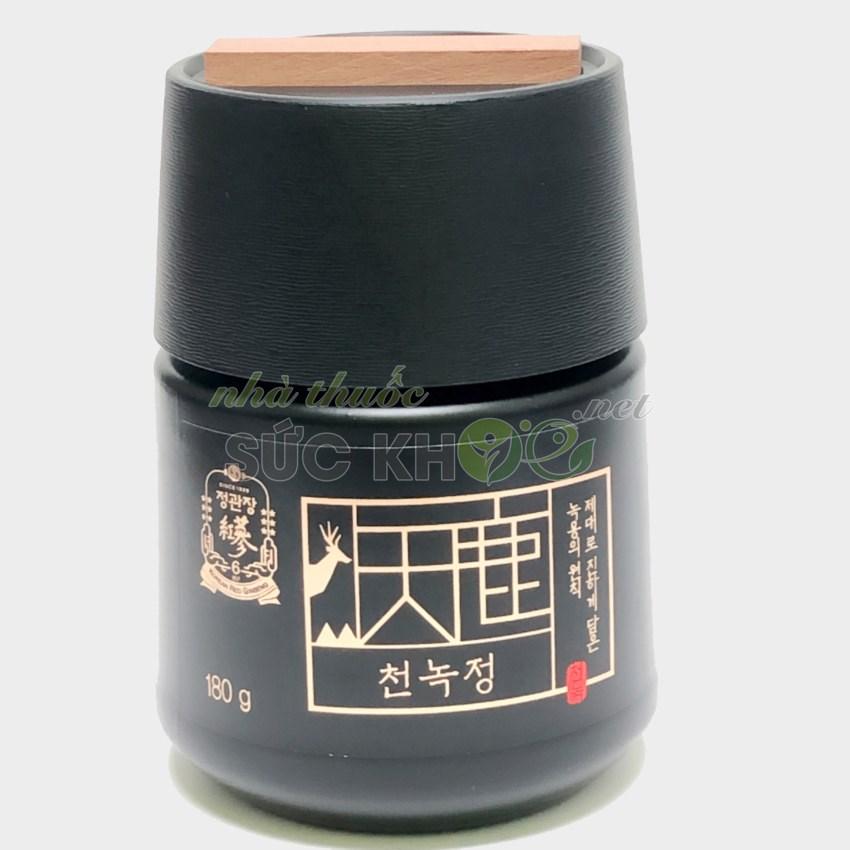 Hình ảnh chi tiết lọ Cao hồng sâm nhung hươu Cheong Kwan Jang CheonNok Extract 180g