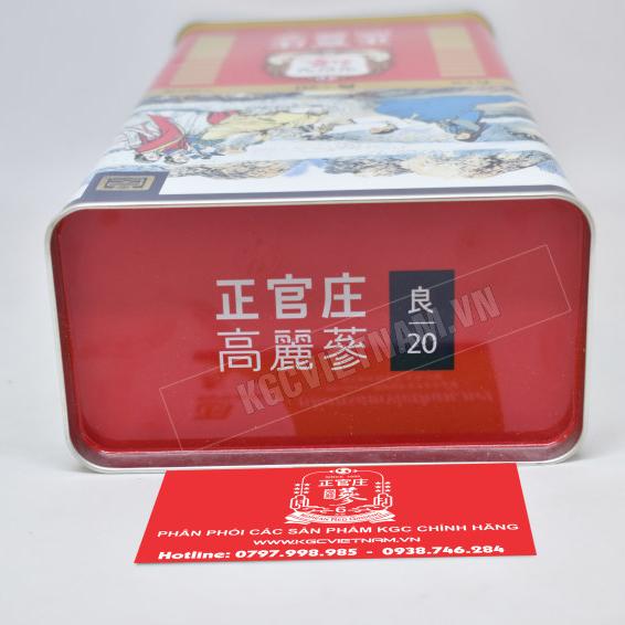 Hồng sâm củ khô Cheong Kwan Jang Hàn Quốc 600gr số 20