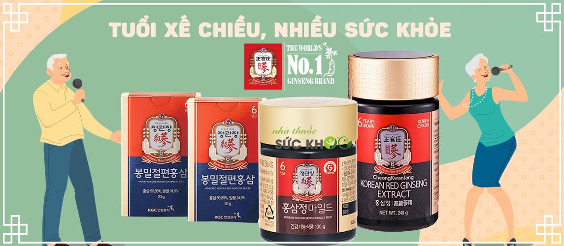 Banner hồng sâm chính phủ KGC - Cheong Kwan Jang