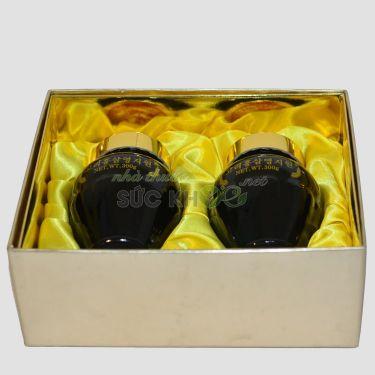 Cao hồng sâm linh chi Hàn Quốc 300gr x 2 lọ