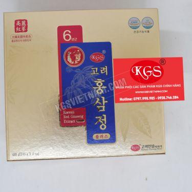 Cao hồng sâm Plus KGS 240gr x 2 lọ