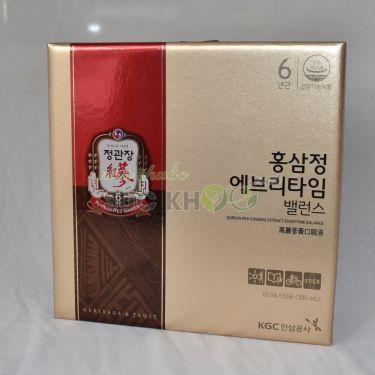 Nước hồng sâm Cheong Kwan Jang Everytime Balance 10ml x 30 gói