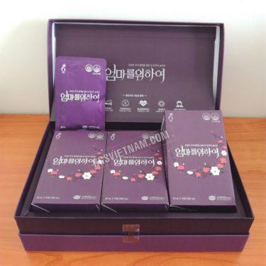 Nước hồng sâm KGS dành cho phụ nữ 50ml x 30 gói