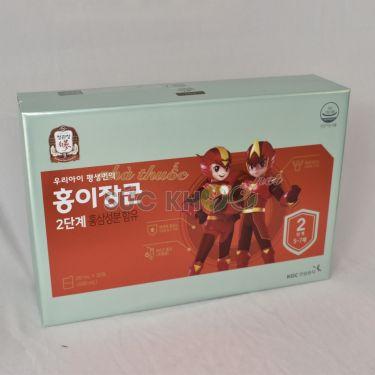 Nước hồng sâm trẻ em Cheong Kwan Jang số 2 20ml x 30 gói