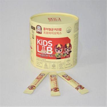 Men vi sinh trẻ em KGC Cheong Kwan Jang General Hong Yi's Kids Lab Probiotics 1,5g x 90 gói